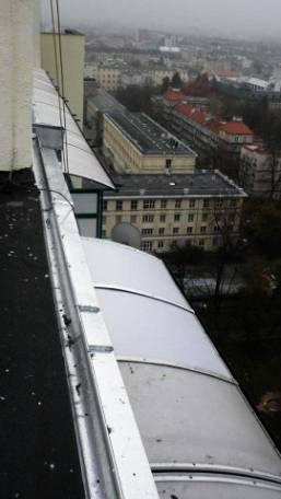 Montaż daszków balkonowych Warszawa