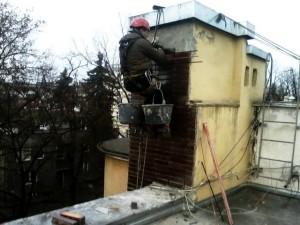 Naprawa kominów Warszawa