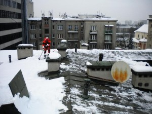Odśnieżanie dachów Piaseczno