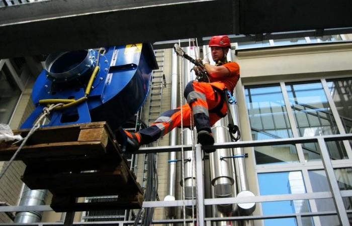 Alpinizm przemysłowy Warszawa